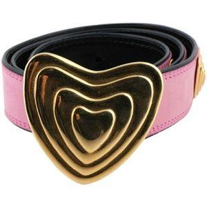 ESCADA by Margaretha Ley Vintage Heart Belt